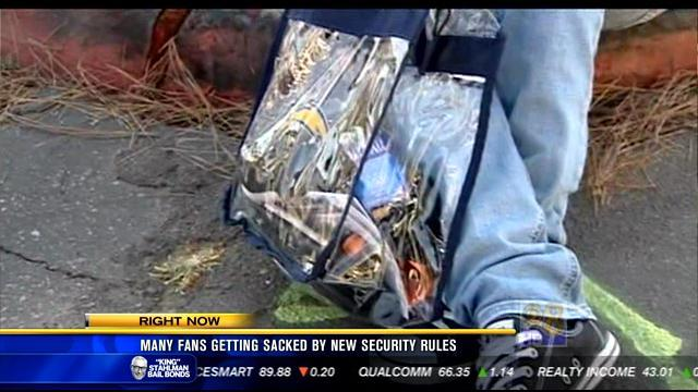 Many fans getting sacked by new security lines at Qualcomm Stadium