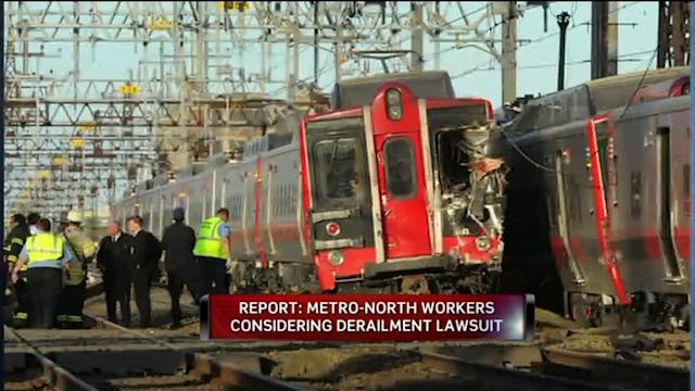 Workers Injured In Train Collision Consider Suing Metro North