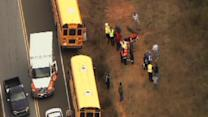 School bus accident in Orange County
