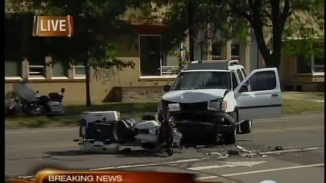 Police officer hit by SUV