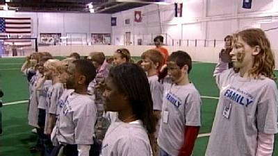 Program Gives Air Force Kids Feel For Deployment
