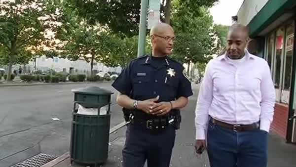 Oakland top cop explains why he doesn't live there