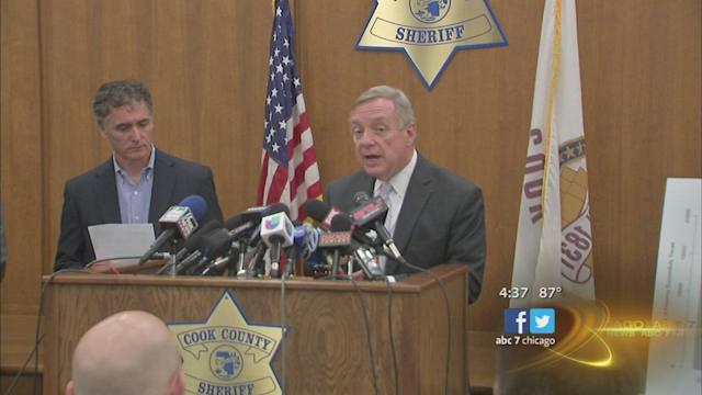 Sen. Dick Durbin, Cook County Sheriff Tom Dart urge police to trace confiscated gun origins