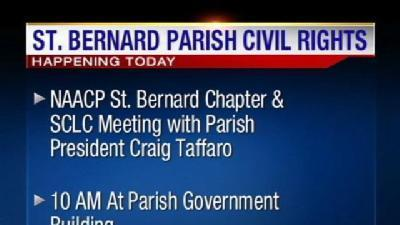 St. Bernard Leaders To Discuss Racial Issues