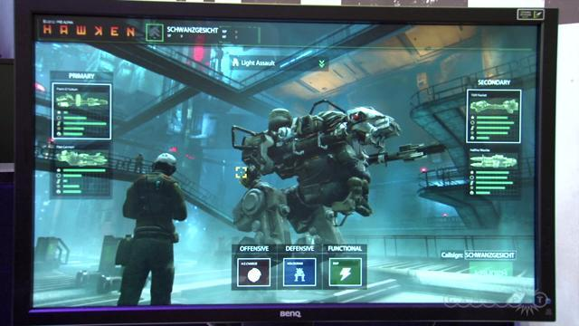 Mighty Mech - Hawken Off-Screen Gameplay Demo Gamescom 2012