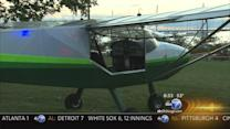Plane lands on Lake Shore Drive at Jackson; minor injuries reported