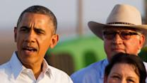 Obama Visits Calif. to Talk About Drought