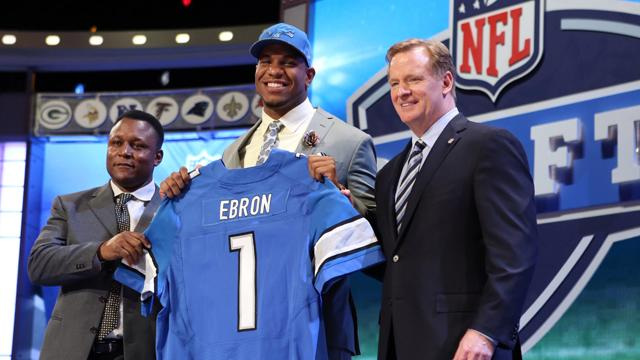 2014 NFL Draft: Lions get a C- for Ebron pick
