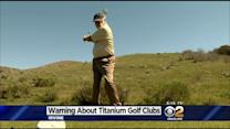 Study Says Certain Types Of Golf Clubs Can Spark Brush Fires