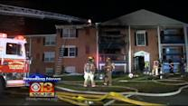 Apartment Fire Puts A Dozen Families Out Of Their Homes