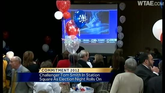 Ashlie Hardway reports from Tom Smith HQ after concession speech