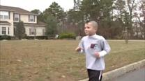 5-year-old to run Trenton half-marathon