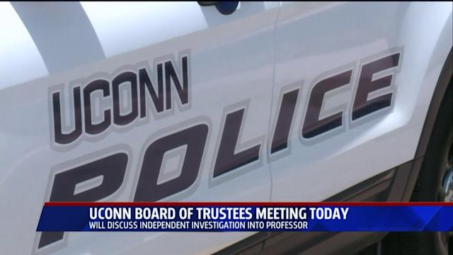 Report Due On UConn Professor Accused Of Sexual Misconduct