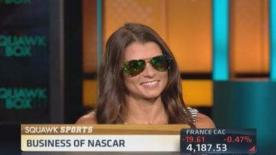Danica Patrick's cool new shades