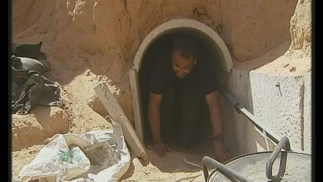 Inside the 'terror tunnels' of Gaza