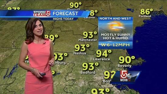 Cindy Fitzgibbon's Friday afternoon forecast