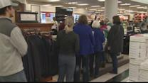 Shoppers out for deals on Black Friday