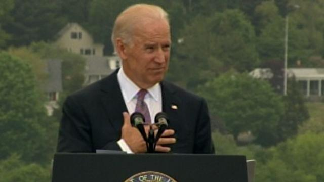 Biden Welcomes Grads to 'Greatest Coast Guard the World Has Ever Seen'