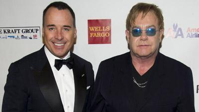 Stars support Elton John's AIDS foundation