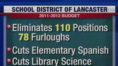 Lancaster School Budget Passes With Deep Cuts