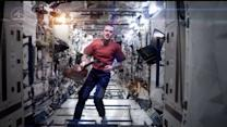 Astronaut Ends Space Mission With David Bowe Cover