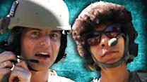 Call Of Duty Players Try Military Combat Gear