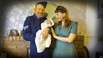 1940's Time Warp: New Parents Live The Lifestyle Of The Forties