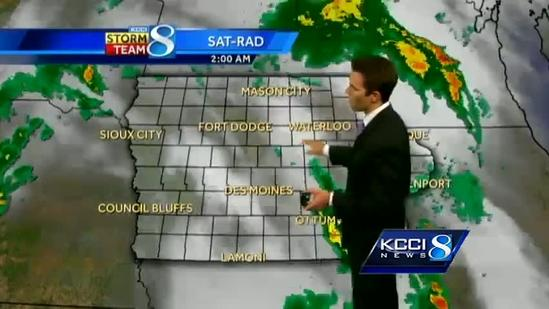 Video-Cast: More storms develop today