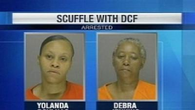 Police: DCF Workers Attacked While Taking Children