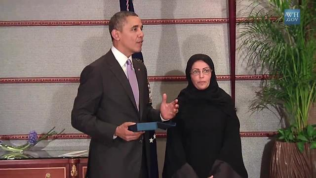 President Obama Presents the International Women of Courage Award