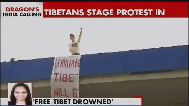 Tibetans stage protest against Li Keqiang's India visit, security tightened