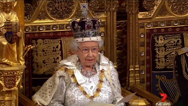 Queen leads parliament opening