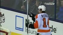 Flyers score two in 20 seconds