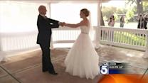 Daughter Holds Mock Wedding to Share First Dance With Dying Dad