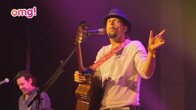 Jason Mraz on why he needs to velcro his hat to his head!