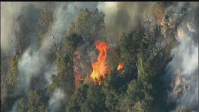 Kern County strike team to help battle Hunter Fire