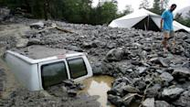 California Mudslide Leaves 2,500 Stranded
