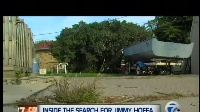 Inside the search for Jimmy Hoffa