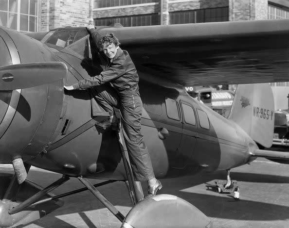 熱愛飛行的Amelia Earhart為後代女性建立獨立自主的堅毅形象。
