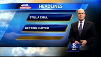 Expect brisk, cold conditions today