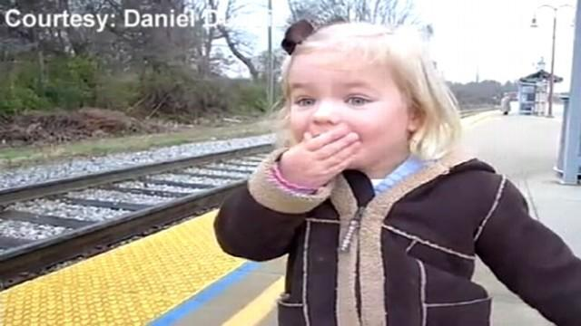 3-Year-Old Celebrates Birthday With First Train Ride