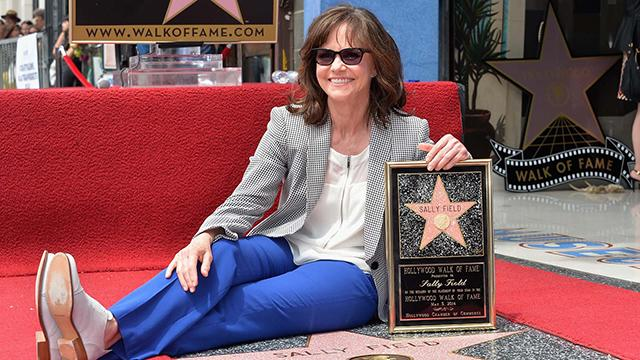 Sally Field Gets Her Star On The Hollywood Walk Of Fame