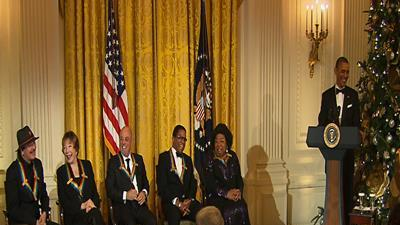 Five Receive Kennedy Center Honors