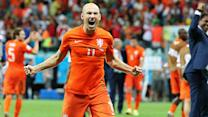 Is Arjen Robben the top player in the World Cup?