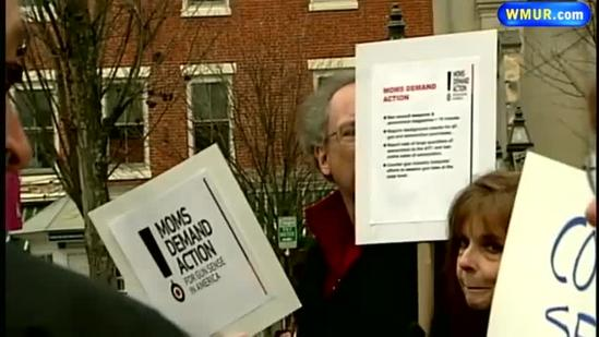 Gun control advocates hold rally in Portsmouth