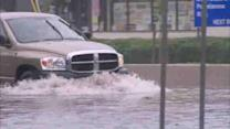 New Jersey flooding due to heavy rains
