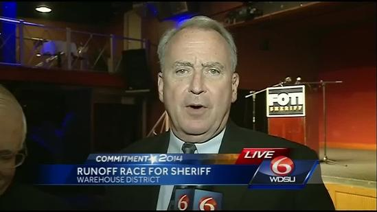 Charles Foti loses to incumbent Marlin Gusman in Orleans Parish Sheriff's race