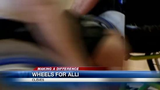 Basketball game aims to raise funds for teen's new wheelchair lift van