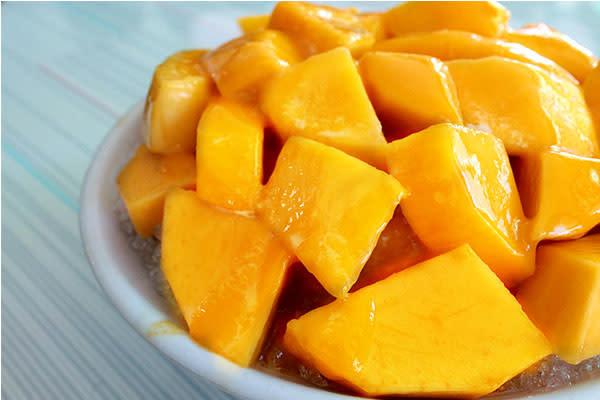超大份量芒果冰,每一碗都可以嘗到多種芒果品種。(圖片來源/冰鄉)