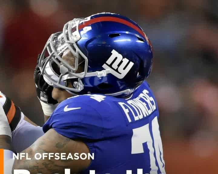 ead467b17 New York Giants draft bust Ereck Flowers signs with NFC East rival ...